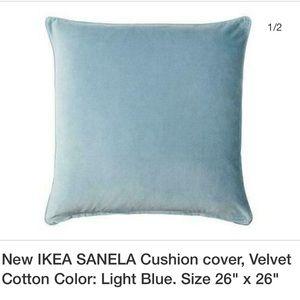 New in package IKEA Velvet Pillow Cover